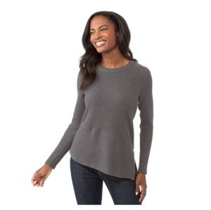 Michael Kors Asymmetric Hem Side Zip Sweater